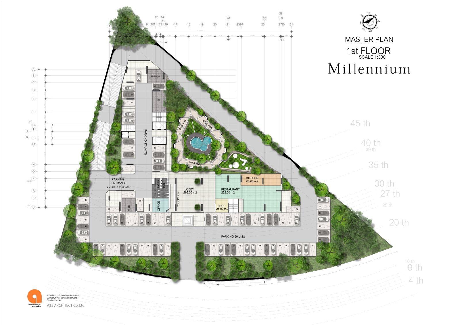 Master plan - 1st floor